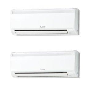 画像1: 大阪・兵庫・京都・滋賀・奈良・和歌山・業務用エアコン 三菱 冷房専用エアコン かべかけ 同時ツインタイプ PKX-CRP112KF 112形(4馬力) ワイヤード 三相200V 冷房専用シリーズ